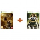 Боевик / Action  Комплект Clash of the Titans + Tomb Raider Underworld Xbox 360