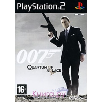 Боевик / Action  007: Quantum of Solace [PS2]