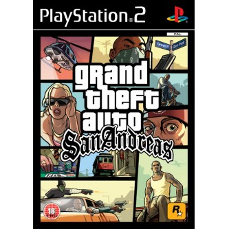 Боевик / Action  Grand Theft Auto: San Andreas [PS2, русская документация]