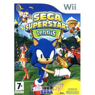 Спортивные / Sport  Sega Superstars Tennis [Wii]