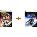 Боевик / Action  Комплект Star Wars the Force Unleashed: Ultimate Sith Edition + Star Wars the Clone Wars: Republic H