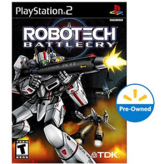Боевик / Action  Robotech: Batllecry PS2