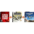 Комплект SOCOM: Confrontation [PS3] + Siren Blood Curse [PS3] + Warhawk [PS3, русская версия]