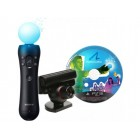 Контроллер PS Move  PS Move Starter Pack (Камера PS Eye + Контроллер движений PS Move + Демо-диск)