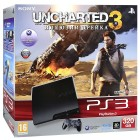 Комплект «Sony PS3 (320 GB) (CECH-3008B)» + игра «Uncharted 3. Иллюзии Дрейка»
