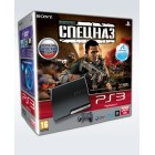 Комплект «Sony PS3 (320 Gb) (CECH-2508B)» + игра «SOCOM: Спецназ»