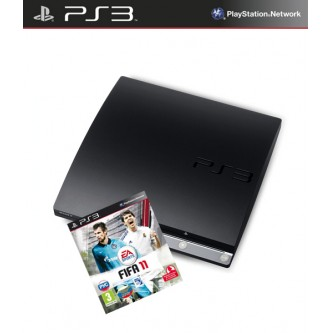 Комплект «Sony PS3 (320 Gb) (CECH-2508B)» + игра «FIFA 2011»