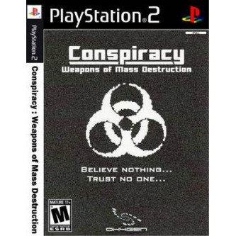 Боевик / Action  Conspiracy: Weapons of Mass Destruction (PS2) (DVD-box)