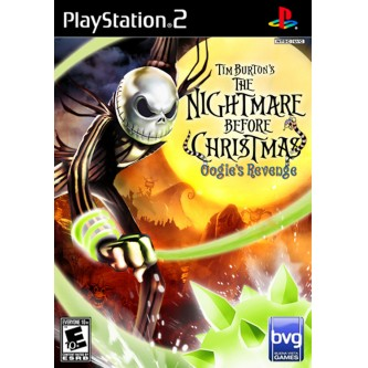 Детские / Kids  Nightmare Before Christmas: Oogie's Revenge (PS2) (DVD-box)