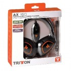 Гарнитура для Playstation 3  Universal: Tritton. Гарнитура проводная стерео (AX 180 Performance Stereo Headset for PS3, Xbox 360,