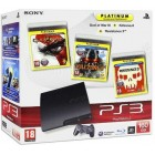 Комплект «Sony PS3 (160 Gb) (CECH-3008A)» + игра «Killzone 3 (Platinum)» + игра «God of War 3 (Platinum)