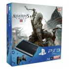 Комплект «Sony PS3 Super Slim (500 Gb) (CECH-4008C)» + игра «Assassin's Creed 3»