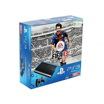 Комплект «Sony PS3 Super Slim (500 Gb) (CECH-4008C)» + игра «FIFA 13»