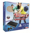 Комплект «Sony PS3 Super Slim (500 Gb) (CECH-4008C)» + игра «Праздник Спорта 2» + Камера PS Eye + Ко