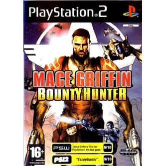 Боевик / Action  Mace Griffin Bounty Hunter (PS2) (DVD-box)