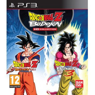 Драки / Fighting  Dragon Ball Z Budokai HD collection [PS3, английская версия]