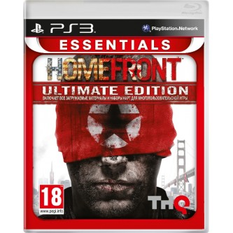 Шутеры и Стрелялки  Homefront: Ultimate Edition (Essentials) [PS3, русская версия]