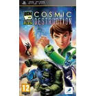 Боевик / Action  Ben 10: Ultimate Alien Cosmic Destruction (Essentials) [PSP, английская версия]