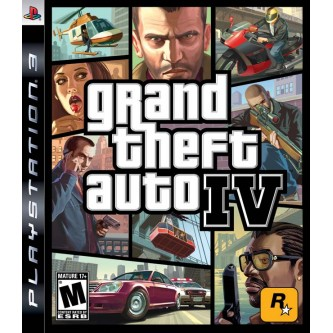 Grand Theft Auto IV (full eng) (PS3) (Case Set)