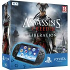 Комплект Sony PS Vita WiFi Black Rus (PCH-1008ZA01) + PSN код активации Assassin's Creed. Освобождение