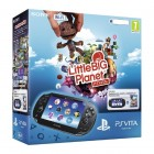 Комплект Sony PS Vita WiFi Black Rus (PCH-1008ZA01) + PSN код активации LittleBigPlanet + Карта памя