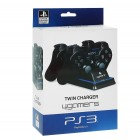 Джойстики для Playstation 3  PS3: Зарядная Станция Twin Charger (Twin Controller Charging Dock: A4T)