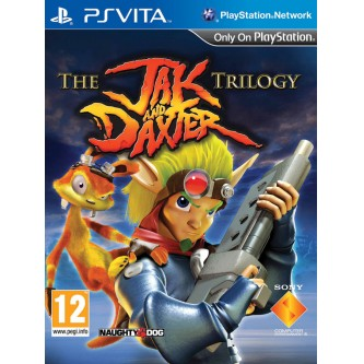 Боевик / Action  Jak & Daxter Trilogy [PS Vita, русская версия]
