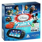 Комплект Sony PS Vita 3G/WiFi Black Rus (PCH-1108ZA01) + Карта памяти 8 Гб + Disney Mega Pack PSN ко