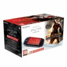 Комплект «Sony PSP Slim Base Pack Black (PSP-E1008/Rus)» + игра «God of War: Призрак Спарты (Esn)