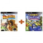 Комплект Madagascar Kartz + Sonic & SEGA All-Stars Racing [PS3]
