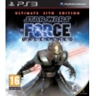 Комплект Star Wars the Force Unleashed: Ultimate Sith Edition + Железный человек 2 PS3