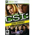 Квест / Quest  CSI: Hard Evidence [Xbox 360]